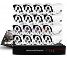 Bộ 16 Camera quan sát HD
