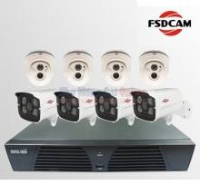 Bộ 8 Camera quan sát FSDCAM