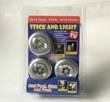 Bộ 3 đèn LED dán tường loại 6 bóng