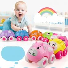 Bộ đồ chơi xe kéo hình thú dễ thương