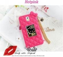 Ốp da Hello Kitty quai ví dành cho điện thoại Samsung