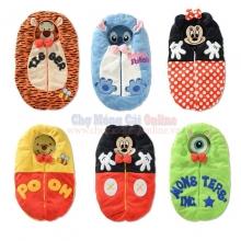 Túi ngủ hoạt hình Disney dễ thương.