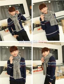 Khăn len có túi phong cách Hàn Quốc KMD011