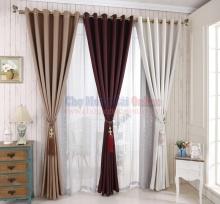 Rèm cửa bằng vải cao cấp RC003