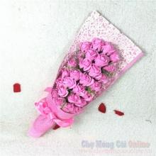 Hoa hồng sáp hộp 33 bông HQ021