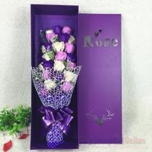Hoa hồng sáp hộp 33 bông HQ022
