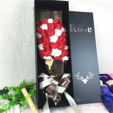 Hoa hồng sáp hộp 33 bông HQ023