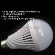 Bóng LED tròn tích điện thông minh