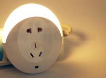 Bộ 2 ổ cắm điện thông minh tích hợp đèn chiếu sáng CH002